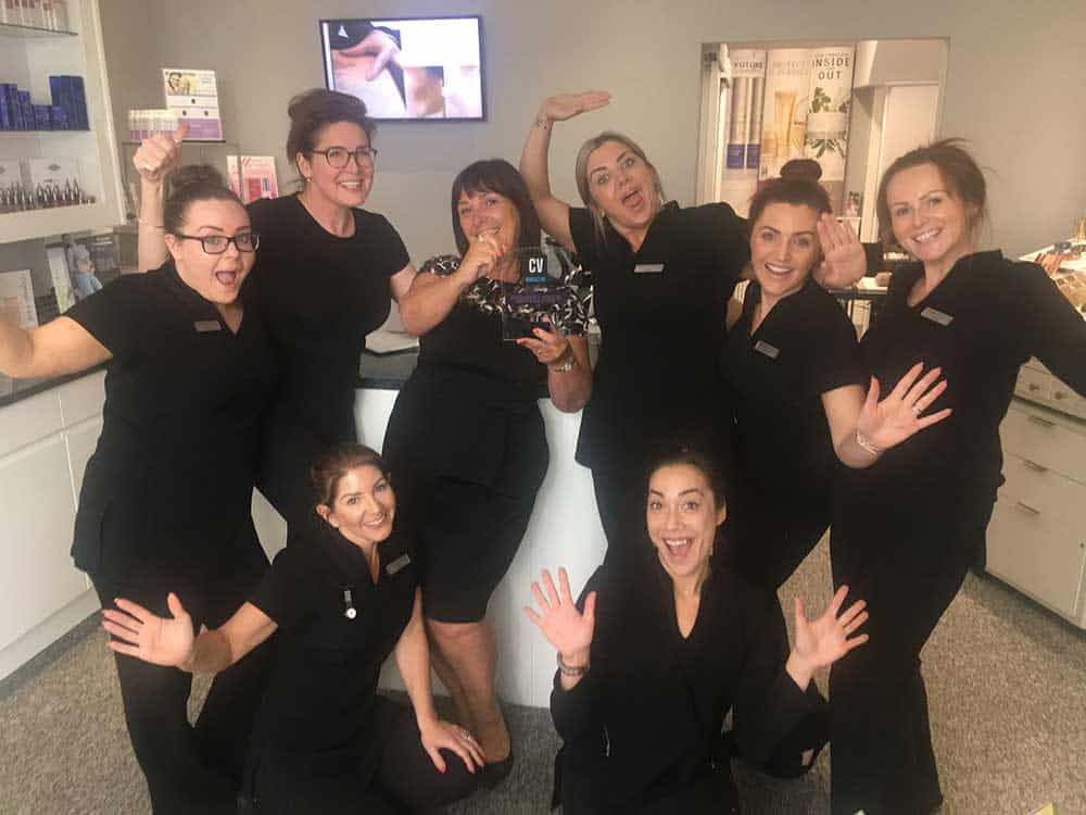 Finishing touch Awarded Most Outstanding Beauty Salon 2018 awarded by corporate vision magazine